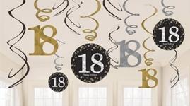 18 års fødselsdag - Sølv