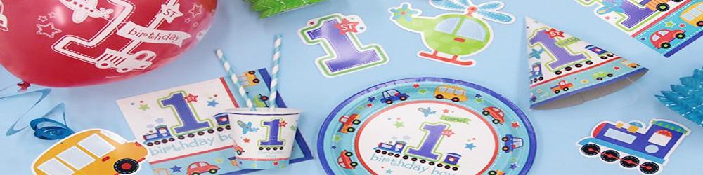 1 års fødselsdag - Dreng