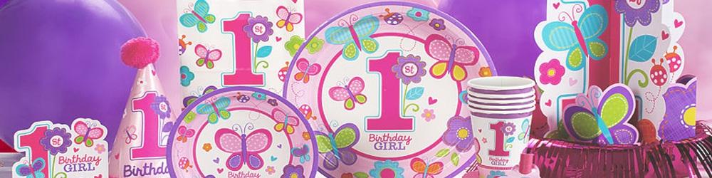 1 års fødseldag - Pige