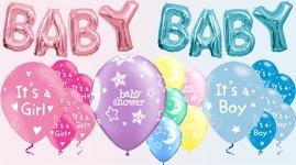 Balloner til baby shower