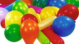 Latex balloner - Blandede farver