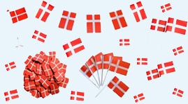 Alt med flag