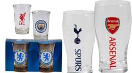 Ølglas, whiskyglas og shotglas