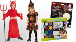 Halloween udklædning og makeup