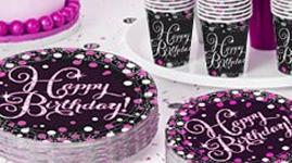 Happy birthday tema - Pink