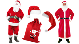 Julekostumer og tilbehør