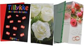 Fødselsdagskort og anledningskort