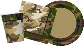 Militær camouflage tema