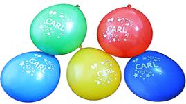 Balloner med navn