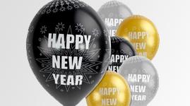 Nytårs balloner