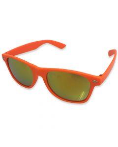 Neon Solbrille Orange Spejlrefleks