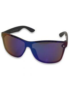 "Solbrille ""Predator"" Blå spejlrefleks"