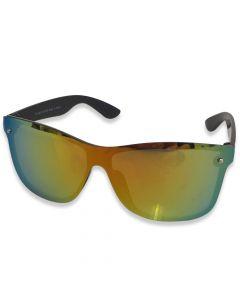 "Solbrille ""Predator"" Guld spejlrefleks"