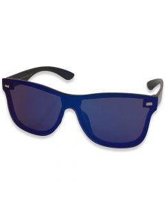 """Solbrille """"Avatar """" Blå spejlrefleks"""