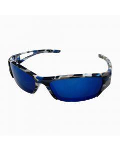 Børne solbrille army spejlrefleks
