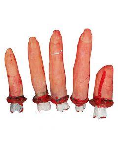 Blodige halloween fingre