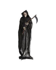 Animeret Halloween reaper med le