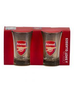Shotglas Arsenal 2 stk.