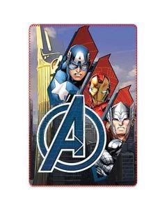 Fleecetæppe med Avengers