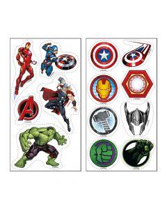 Små Avengers kageprint