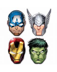 Papmasker med Avengers
