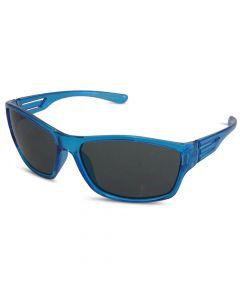 Børne solbrille transparent blå