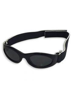 Sort velcro solbrille