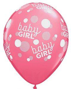 Pink Baby girl ballon