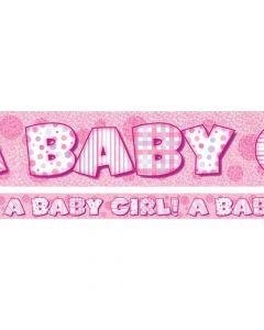 Baby Girl banner 3,65 meter