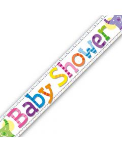 Baby shower folie banner - 2,7 meter