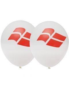 Balloner med flag
