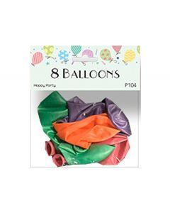 Balloner perlemor 8 stk.