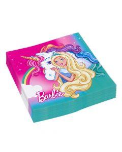 Barbie Dreamtopia servietter 20 stk.