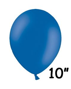 Blå ballon 1 stk. - 26 cm.