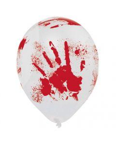 Blodige halloween balloner