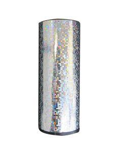 Kæmpe bordbombe i sølvmetallic