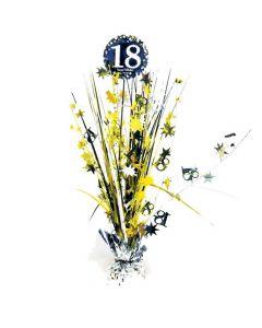 18 års fødselsdag borddekoration - Sølv