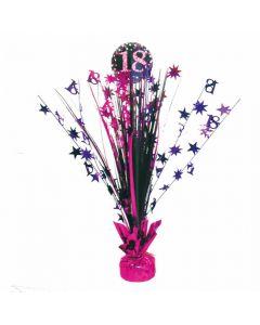 18 års fødselsdag borddekoration - Pink