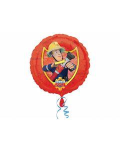 Brandmand Sam folieballon 1 stk.