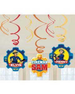 Brandmand Sam hængedekorationer