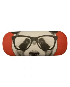 Brilleetui med panda