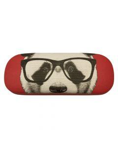 2. Sortering - Brilleetui til solbriller eller læsebriller - Panda Rød