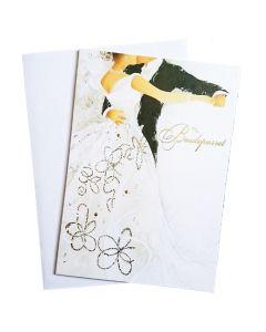 Bryllupskort 1 stk. - Brudevals