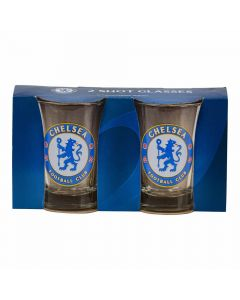 Shotglas Chelsea FC 2 stk.
