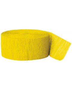 Crepebånd gul 1 stk.