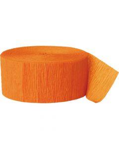 Crepebånd orange 1 stk.