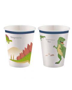 Papkrus med dinosaur