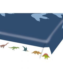 Dinosaur dug i papir til temafest