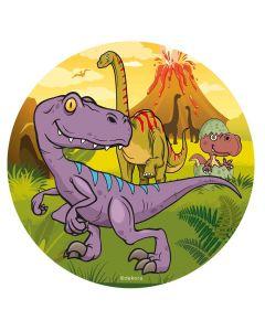 Sukkerprint med Dinosaur