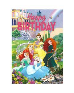Disneys Prinsesser fødselsdagskort